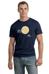 Area 51 T-Shirt: navy blue