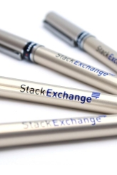 Stack Exchange Pen: silver shell
