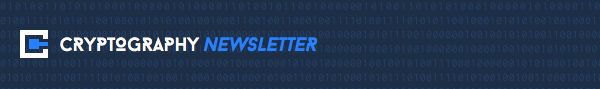 Cryptography Weekly Newsletter